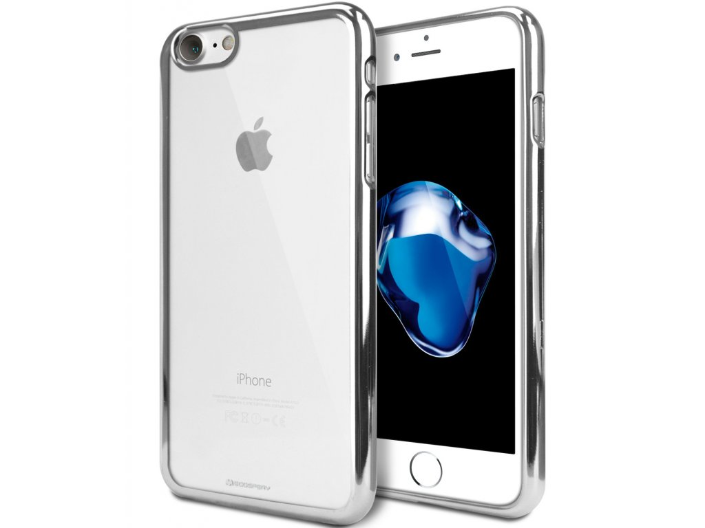 Ochranný kryt pro iPhone XR - Mercury, Ring2 Silver