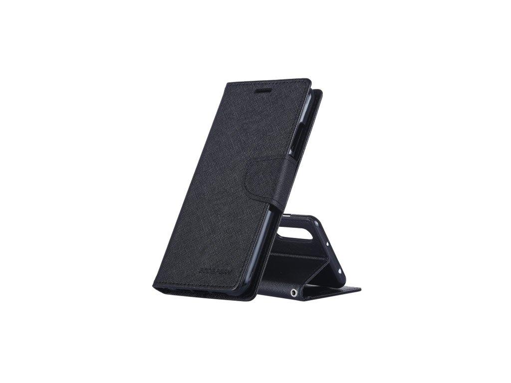 Pouzdro / kryt pro Huawei Mate 20 PRO - Mercury, Fancy Diary Black/Black