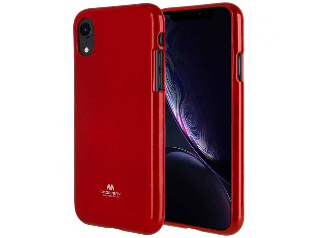 Ochranný kryt pro iPhone XR - Mercury, Jelly Red