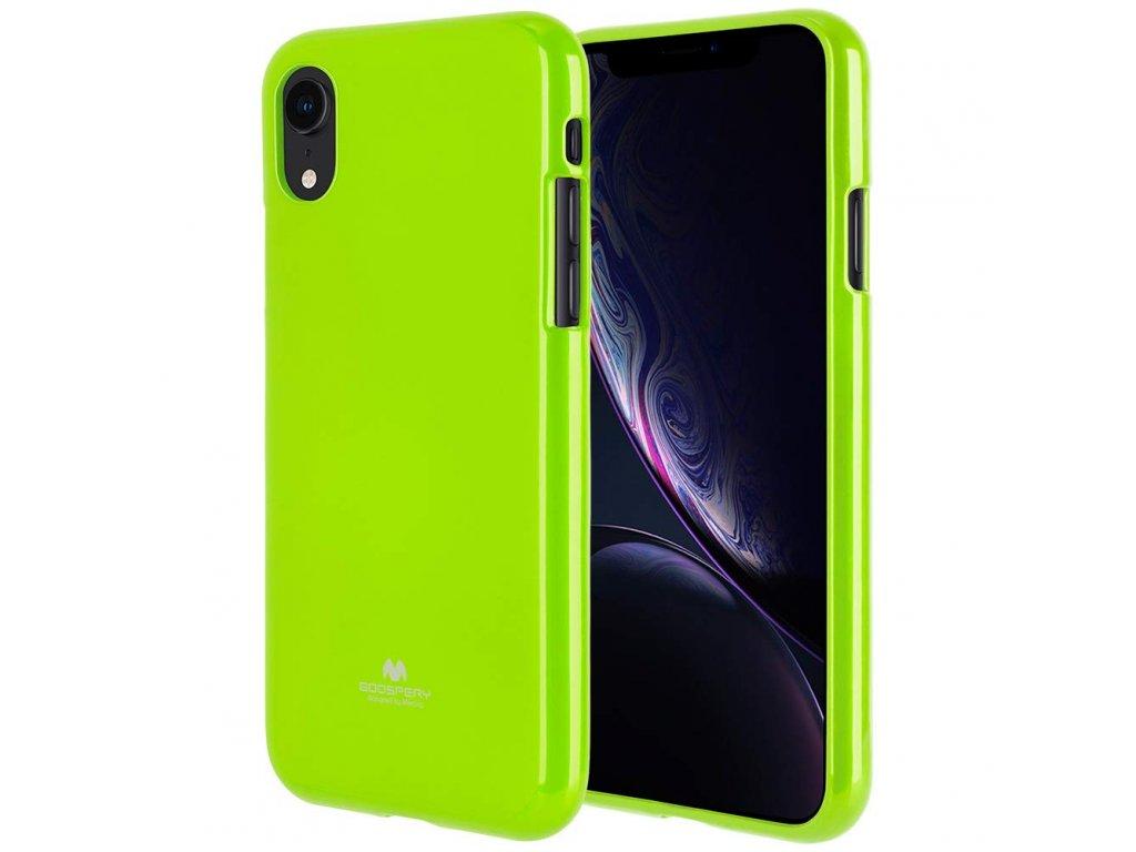 Ochranný kryt pro iPhone XR - Mercury, Jelly Lime