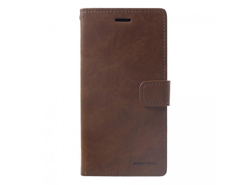 Pouzdro / kryt pro iPhone XR - Mercury, Bluemoon Diary Brown