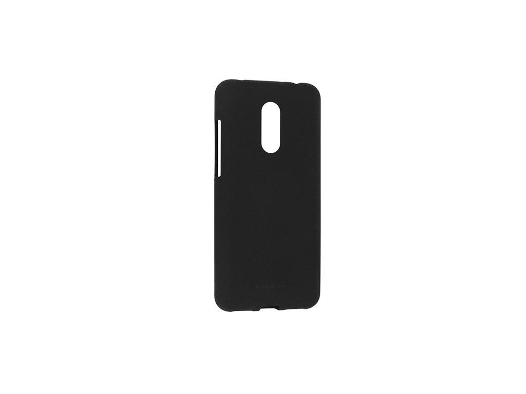 Ochranný kryt pro Xiaomi Redmi 5 - Mercury, Soft Feeling Black