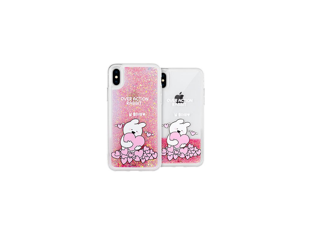Ochranný kryt pro iPhone 7 / 8 - Mercury, Rabbit Glitter LoveYou