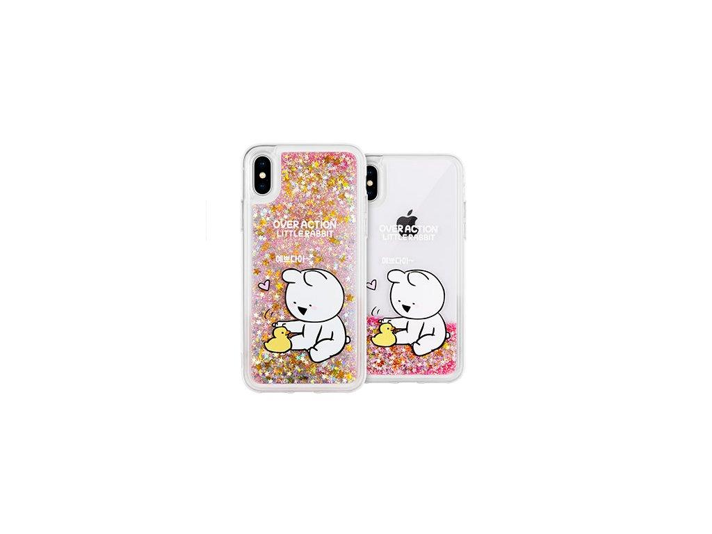 Ochranný kryt pro iPhone 7 PLUS / 8 PLUS - Mercury, Rabbit Glitter Pretty