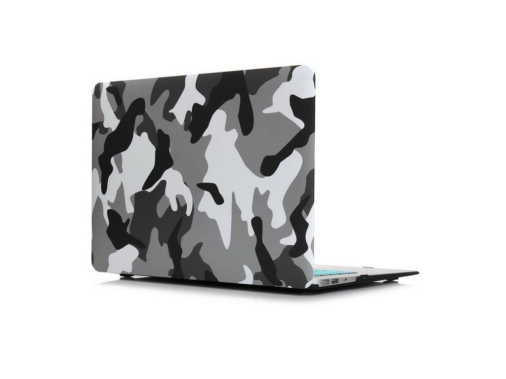 Polykarbonátové pouzdro / kryt na MacBook Air 13 (2010-2017) - Camouflage Gray