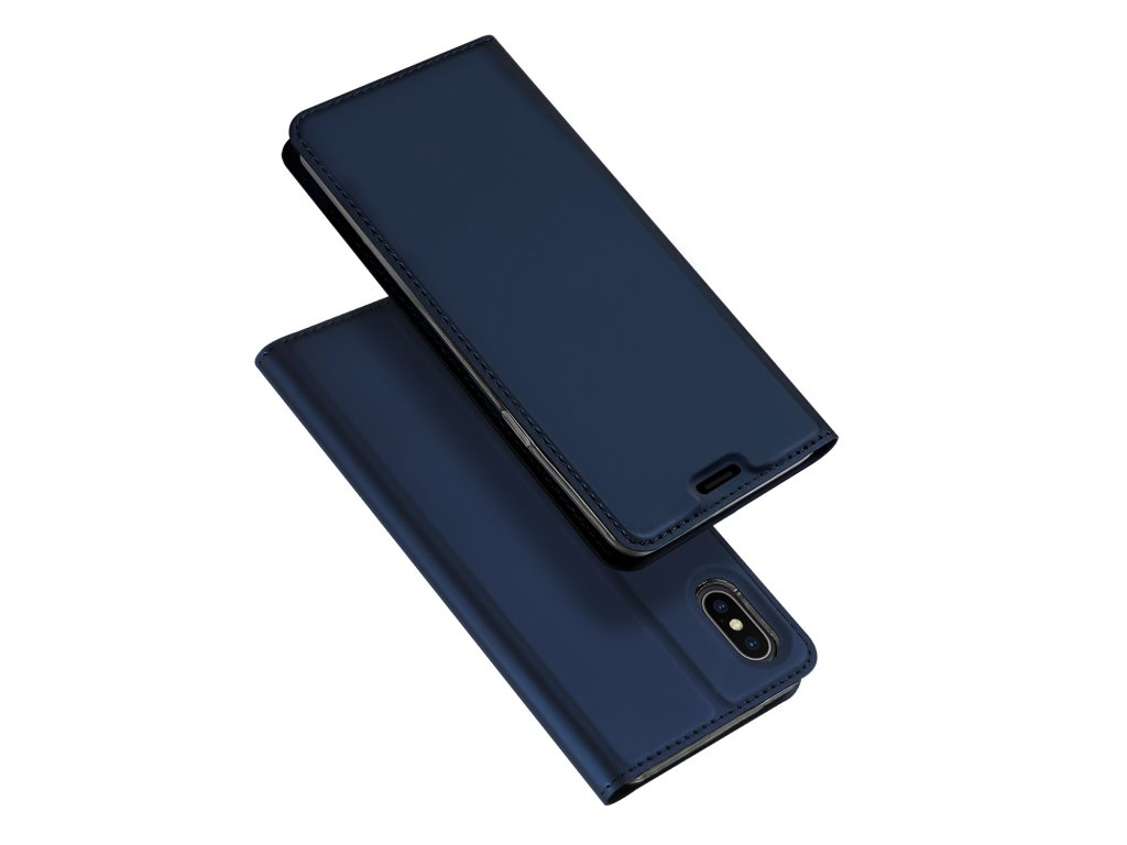 Pouzdro pro iPhone XS MAX - DuxDucis, SkinPro Blue