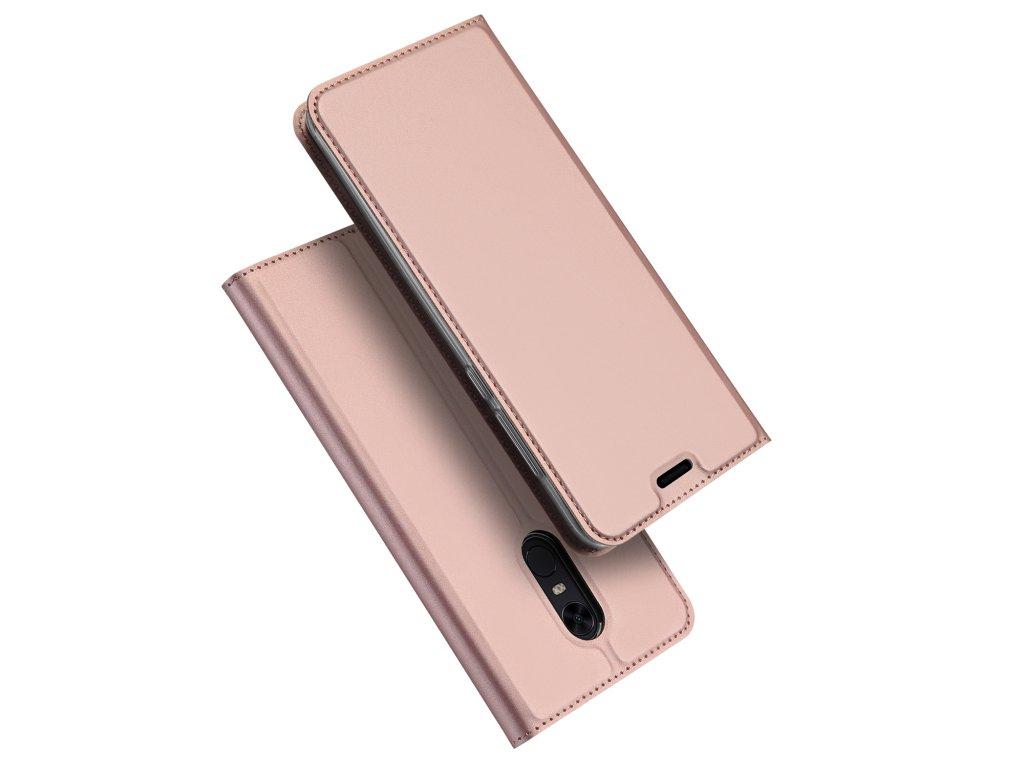 Pouzdro pro Xiaomi Redmi 5 Plus / Note 5 - DuxDucis, SkinPro Rose