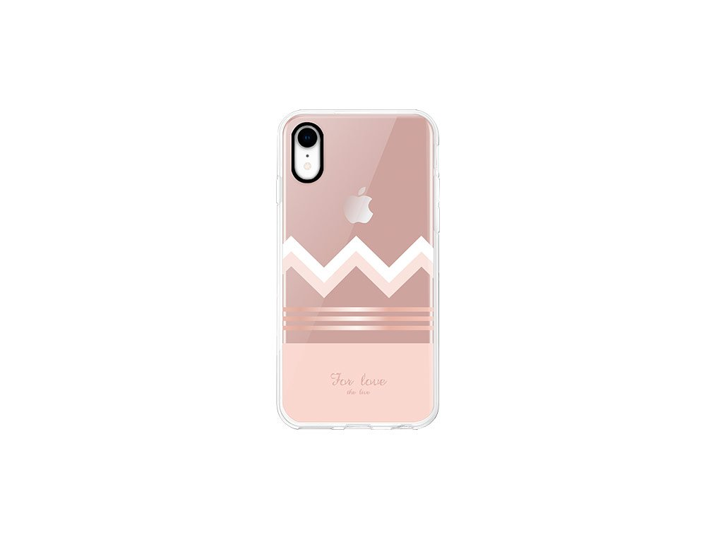 Ochranný kryt pro iPhone XR - Comma, Concise RoseGold