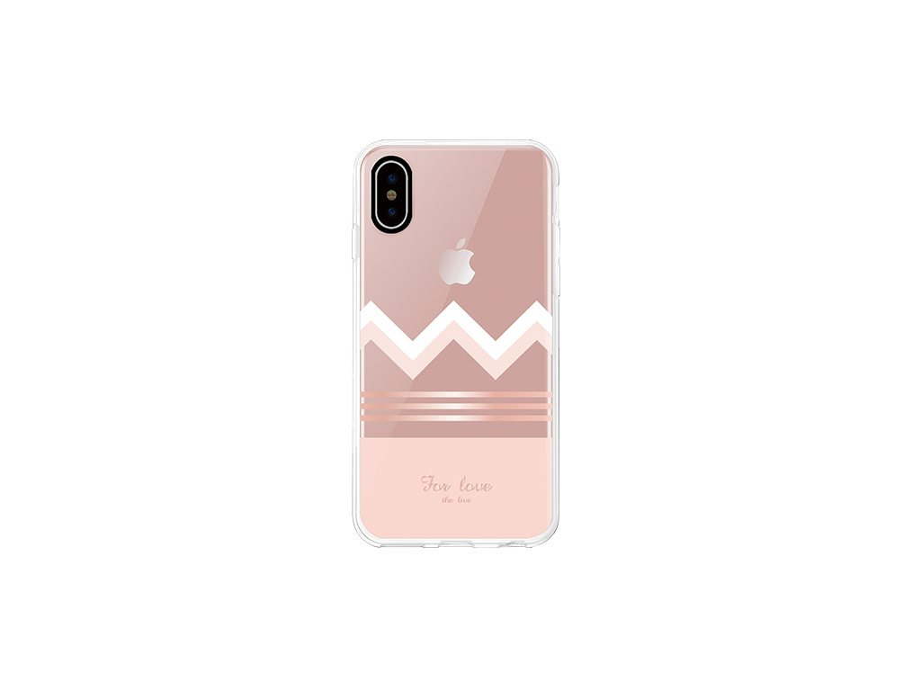 Ochranný kryt pro iPhone XS MAX - Comma, Concise RoseGold