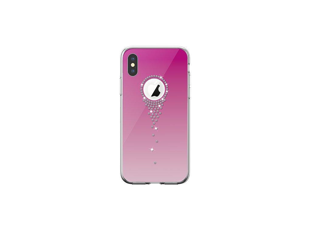 Ochranný kryt pro iPhone XS / X - Comma, AngelTears Pink