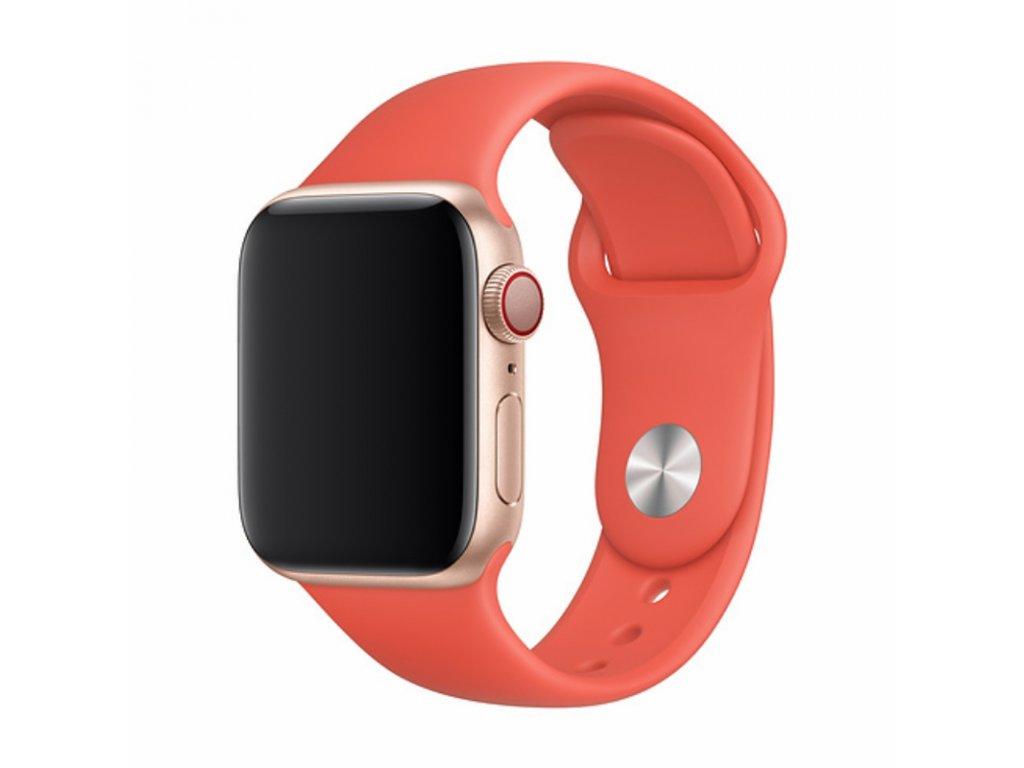 Řemínek pro Apple Watch 38mm / 40mm - Devia, Sport Nectarine
