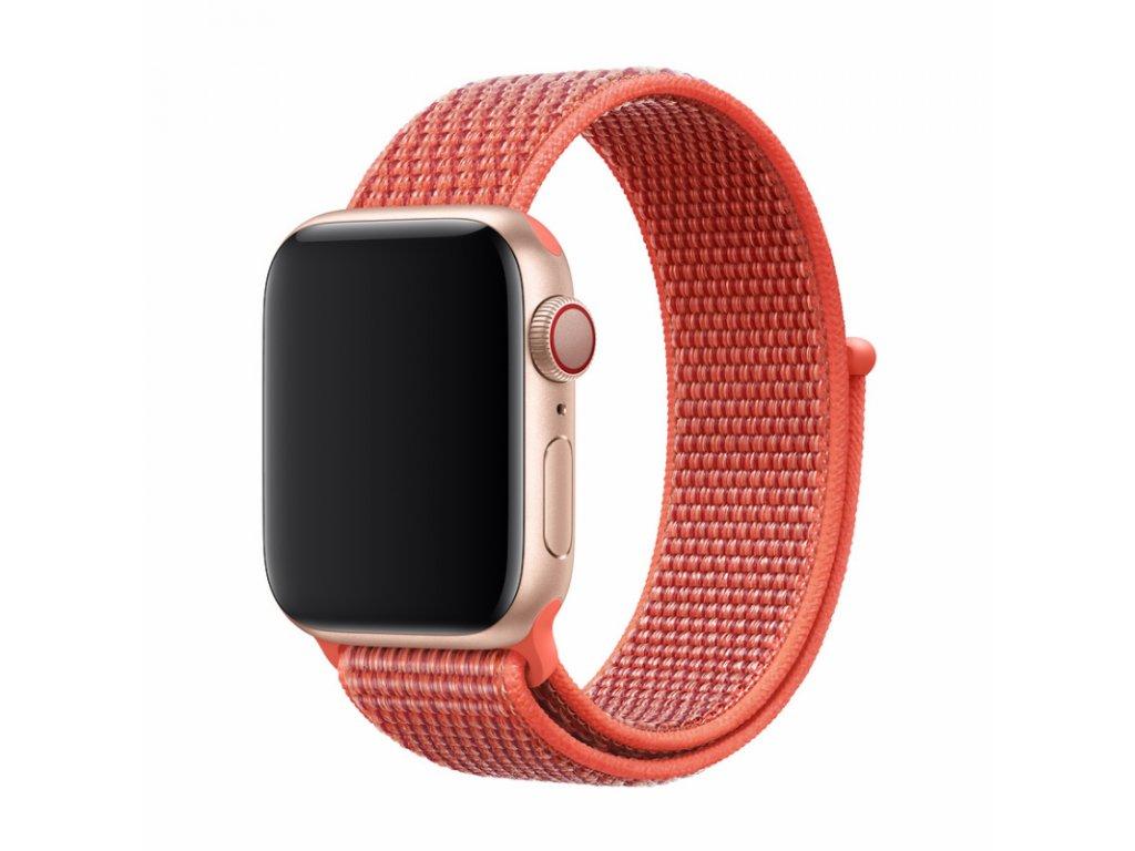 Řemínek pro Apple Watch 38mm / 40mm - Devia, Sport3 Nectarine
