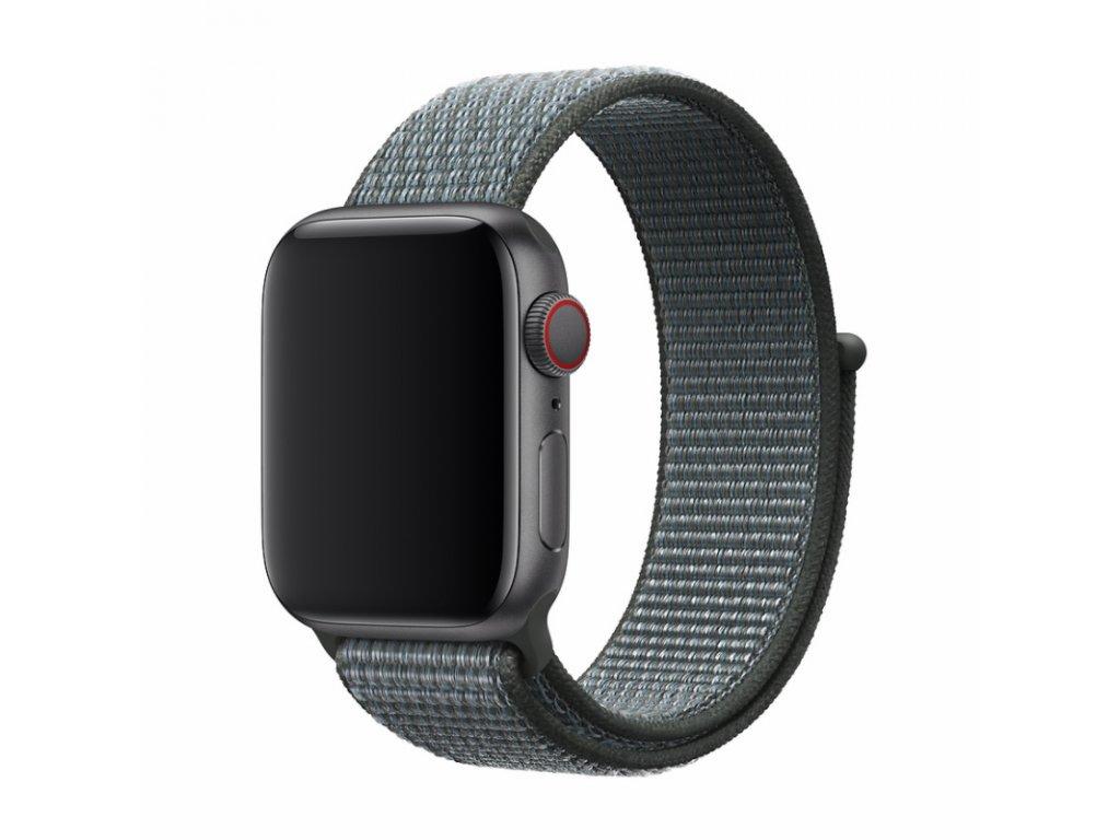 Řemínek pro Apple Watch 38mm / 40mm - Devia, Sport3 Storm Gray