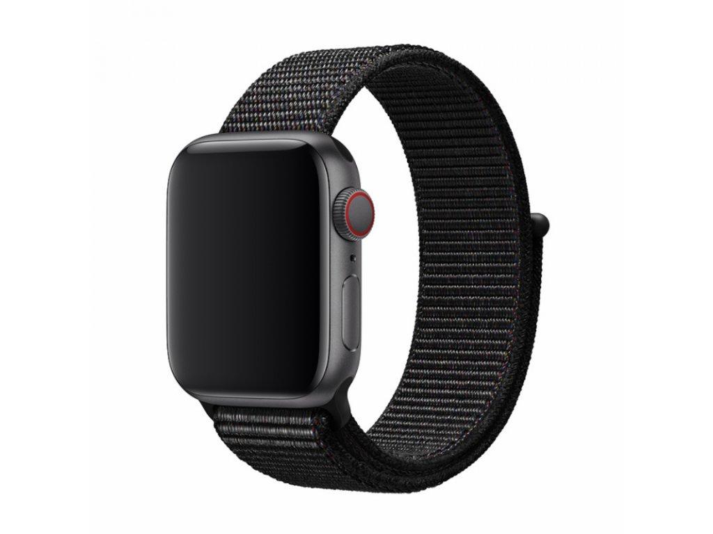 Řemínek pro Apple Watch 42mm / 44mm - Devia, Sport3 Black
