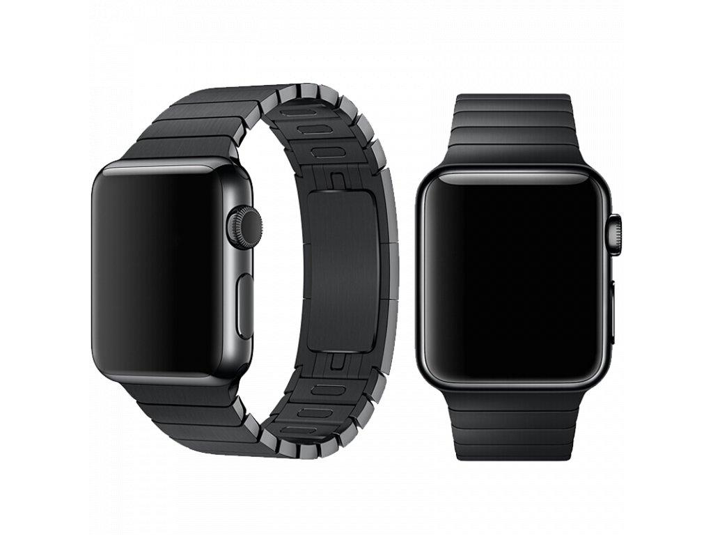 Řemínek pro Apple Watch 38mm / 40mm - Devia, LinkBracelet Black