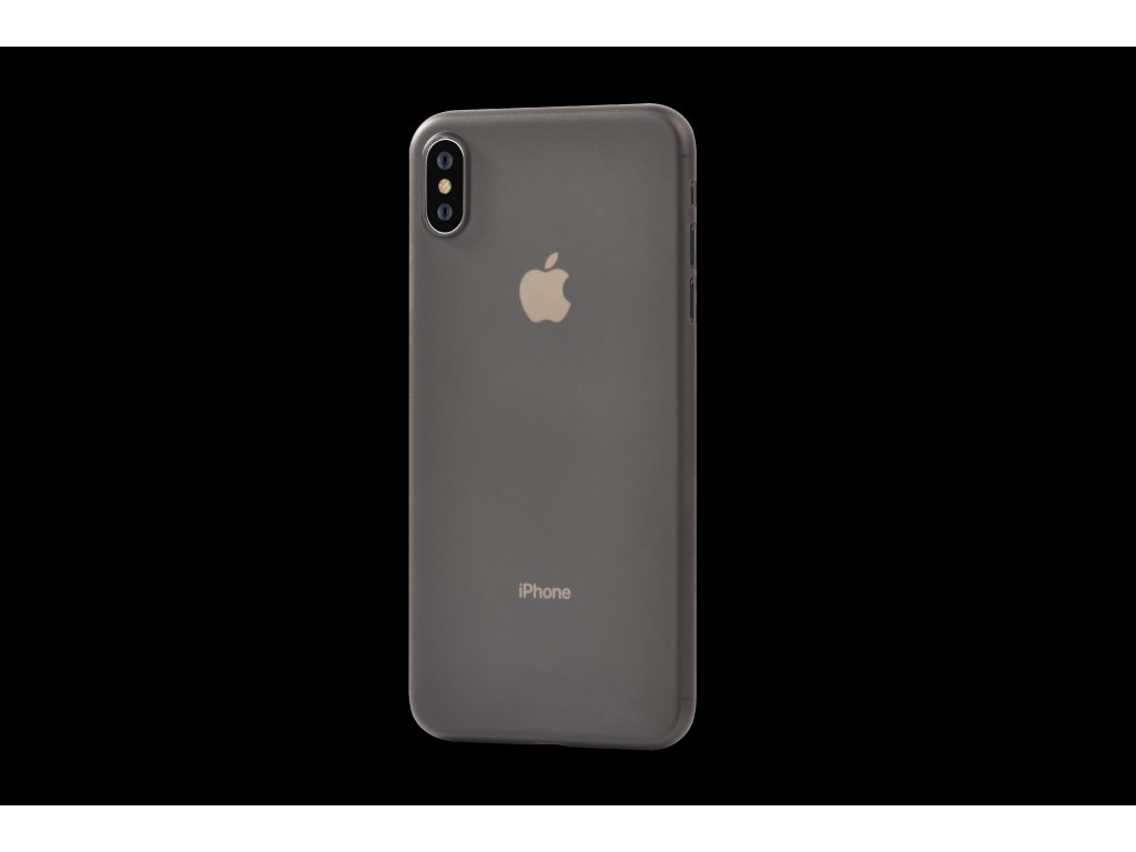 Ultratenký kryt pro iPhone XS MAX - Devia, Naked Tea