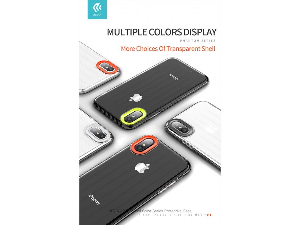 Ochranný kryt pro iPhone XS / X - Devia, Yonger White