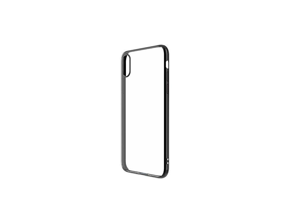 Ochranný kryt pro iPhone XS MAX - Devia, Glimmer Black
