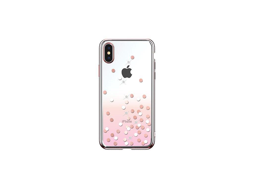 Ochranný kryt pro iPhone XS MAX - Devia, Polka Pink