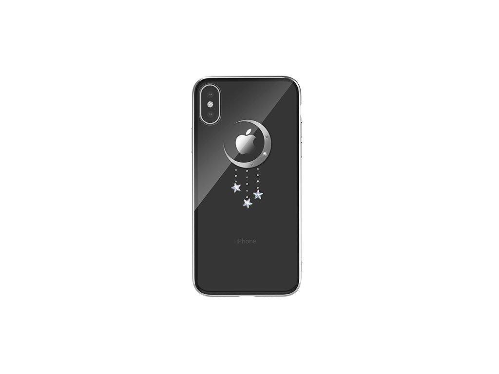 Ochranný kryt pro iPhone XS MAX - Devia, Meteor Silver