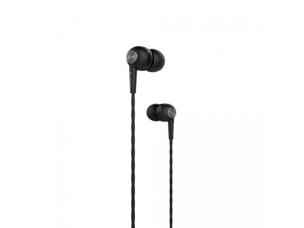 Sluchátka pro iPhone a iPad - Devia, Kintone Black
