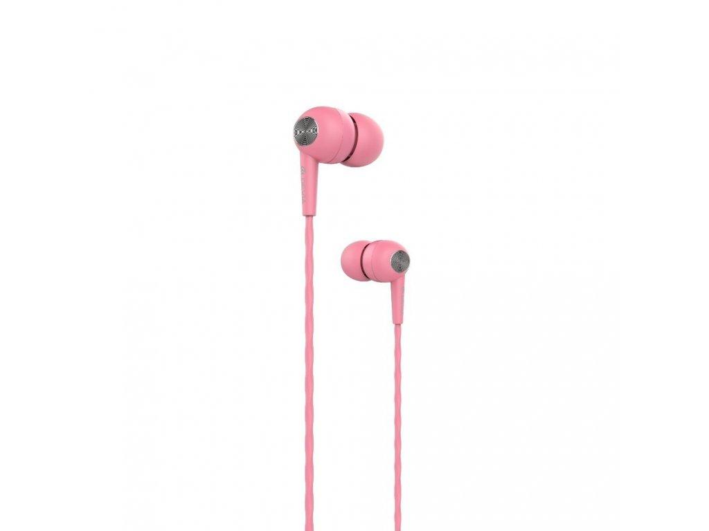 Sluchátka pro iPhone a iPad - Devia, Kintone Pink