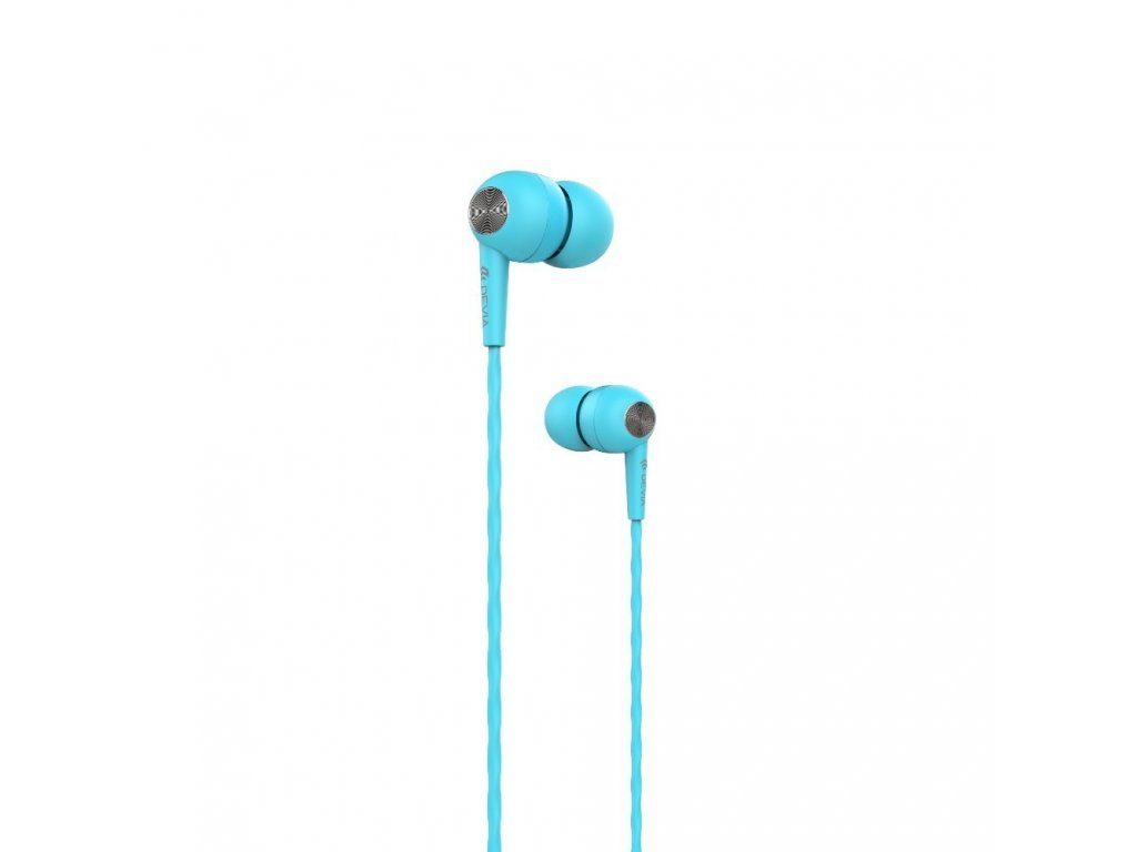 Sluchátka pro iPhone a iPad - Devia, Kintone Blue