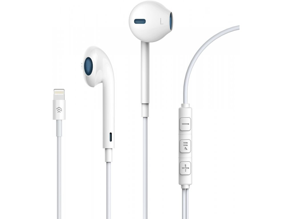 Sluchátka pro iPhone a iPad - Devia, Smart Earpads Lightning (propojení přes bluetooth)