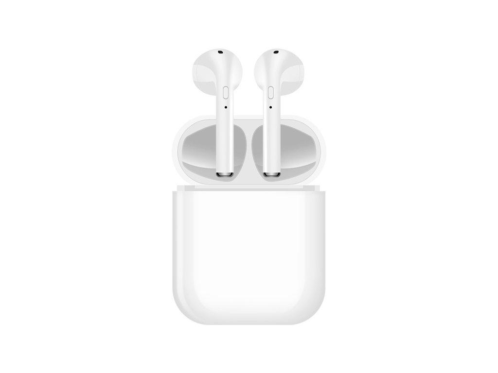 Bezdrátová sluchátka - i16 TWS White