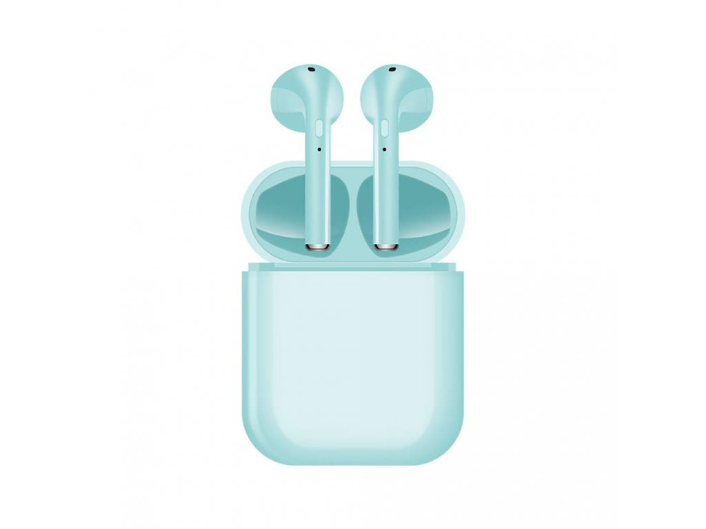 Bezdrátová sluchátka - i16 TWS Blue