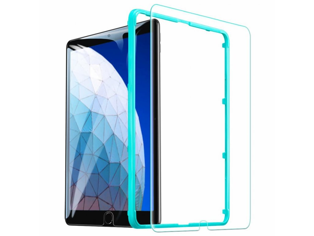 Ochranné tvrzené sklo pro iPad Air 3 - ESR, TEMPERED GLASS (s aplikátorem)