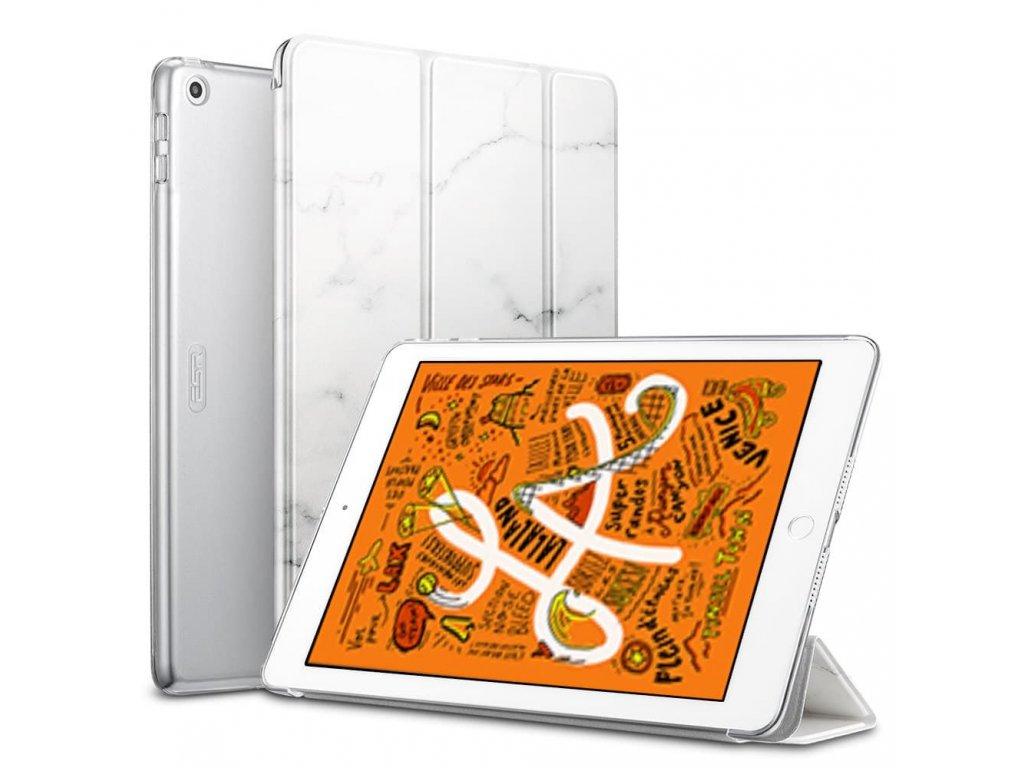 Pouzdro / kryt pro iPad mini 5 - ESR, MARBLE WHITE