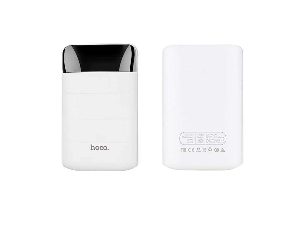 Externí baterie / powerbanka - HOCO, B29 Domon 10000mAh White