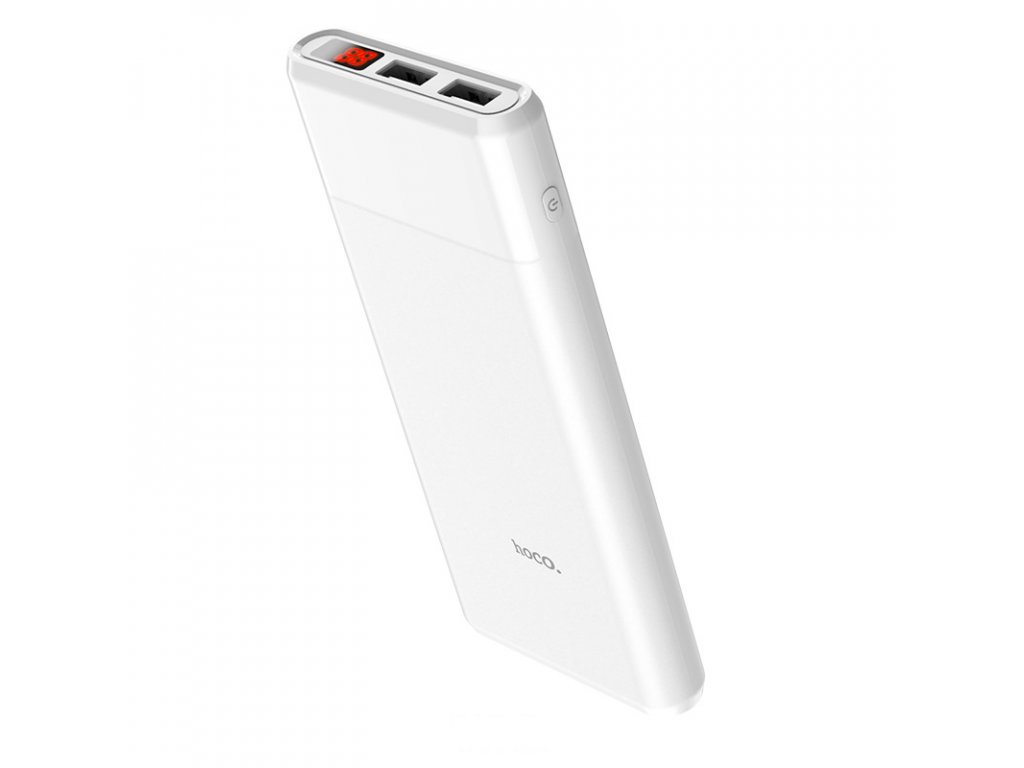 Externí baterie / powerbanka - HOCO, B35C Entourage 12000mAh White
