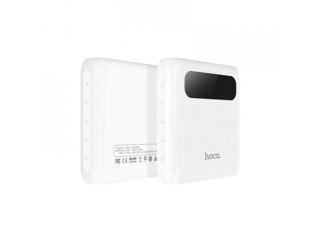 Externí baterie / powerbanka - HOCO, B20 Mige 10000mAh White