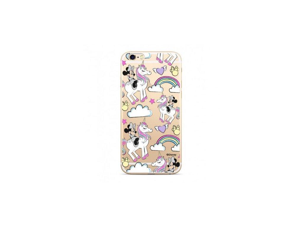 Ochranný kryt pro iPhone 5 / 5S / SE - Disney, Minnie 037 Transparent