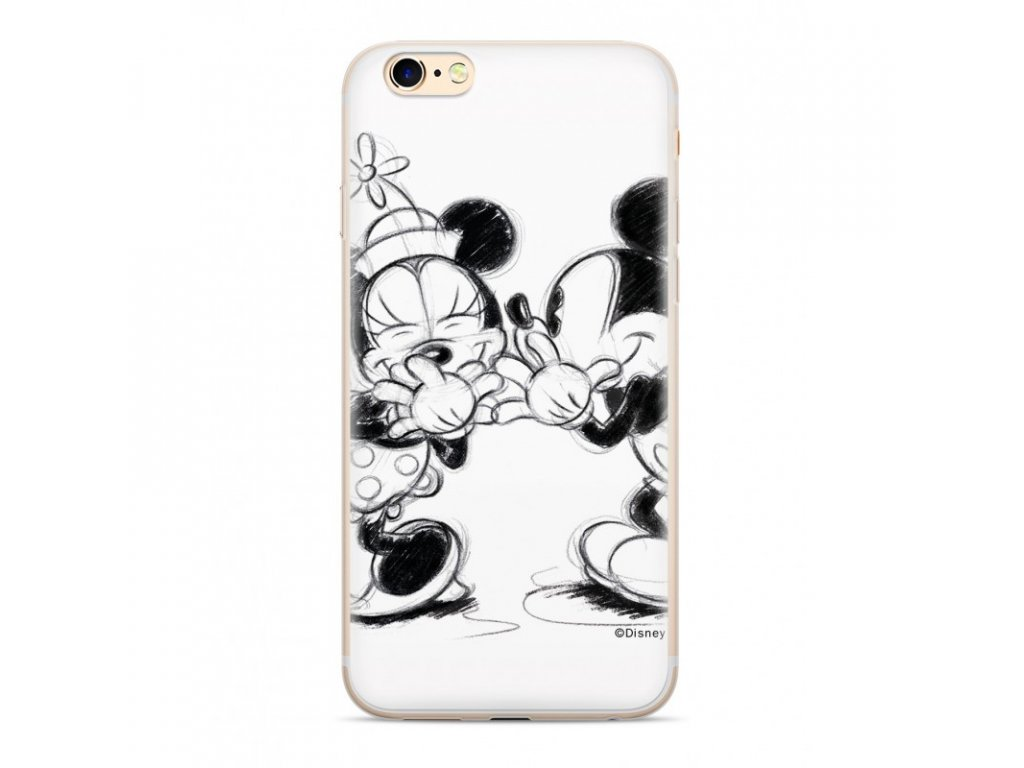 Ochranný kryt pro iPhone XS - Disney, Mickey & Minnie 010