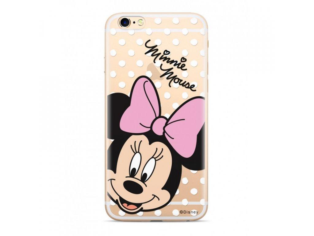 Ochranný kryt pro iPhone XS - Disney, Minnie 008 Transparent
