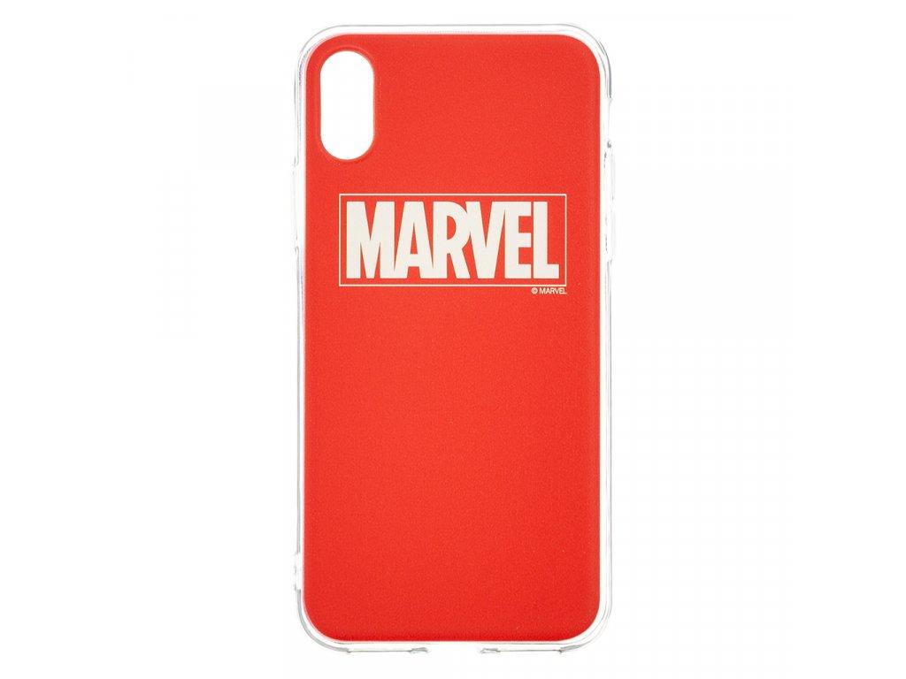 Ochranný kryt pro iPhone XS - MARVEL, Logo 002 Red