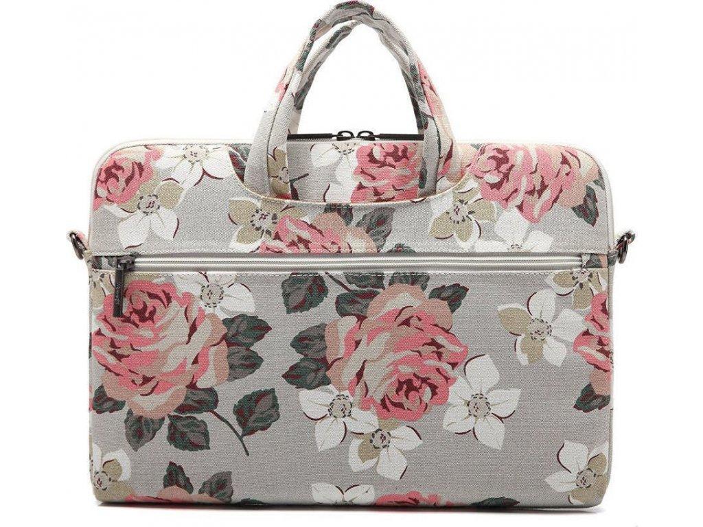 Taška na notebook - CANVASLIFE, 15 Briefcase RoseWhite