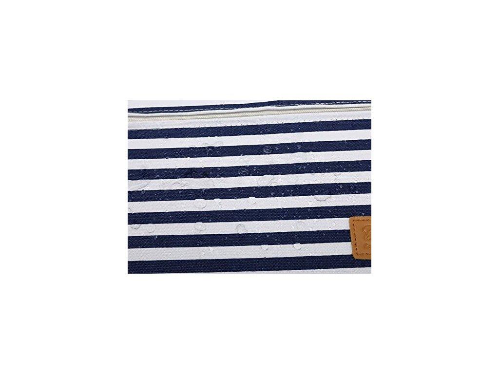 Pouzdro na notebook - CANVASLIFE, 13 Sleeve BretonStripe