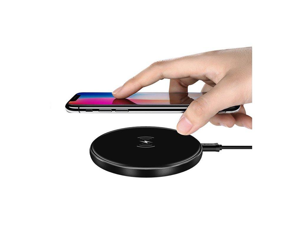 Bezdrátová rychlá nabíječka pro iPhone - Devia, Aurora 10W Black
