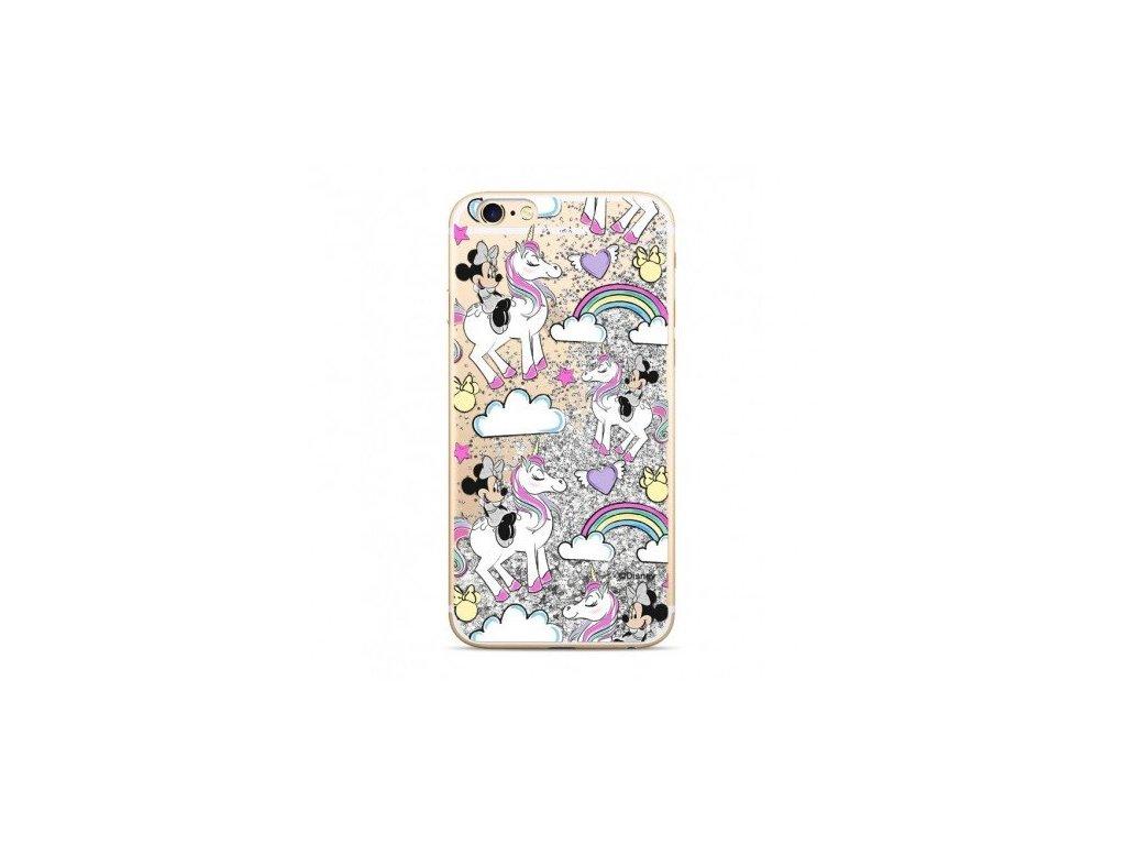 Ochranný kryt pro iPhone 5 / 5S / SE - Disney, Minnie 037 Silver