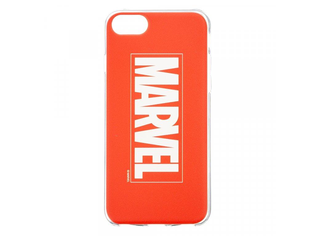 Ochranný kryt pro iPhone 8 / 7 / 6s / 6 - MARVEL, Logo 001 Red