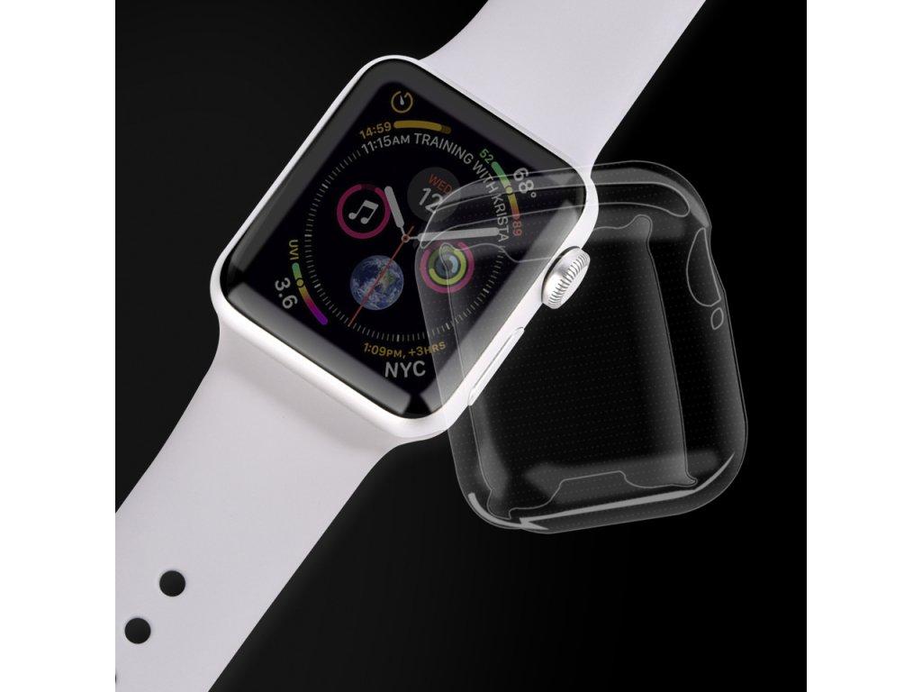 Pouzdro / kryt pro Apple Watch 40mm - Devia, Ice Clear Case
