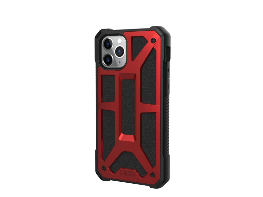 Ochranný kryt na iPhone 11 Pro - UAG, Monarch Crimson Red