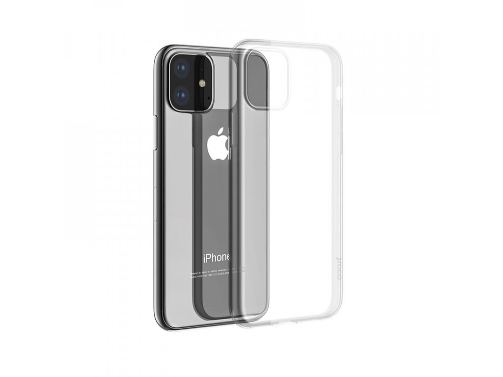 Ultratenký kryt na iPhone 11 - Hoco, Light Transparent