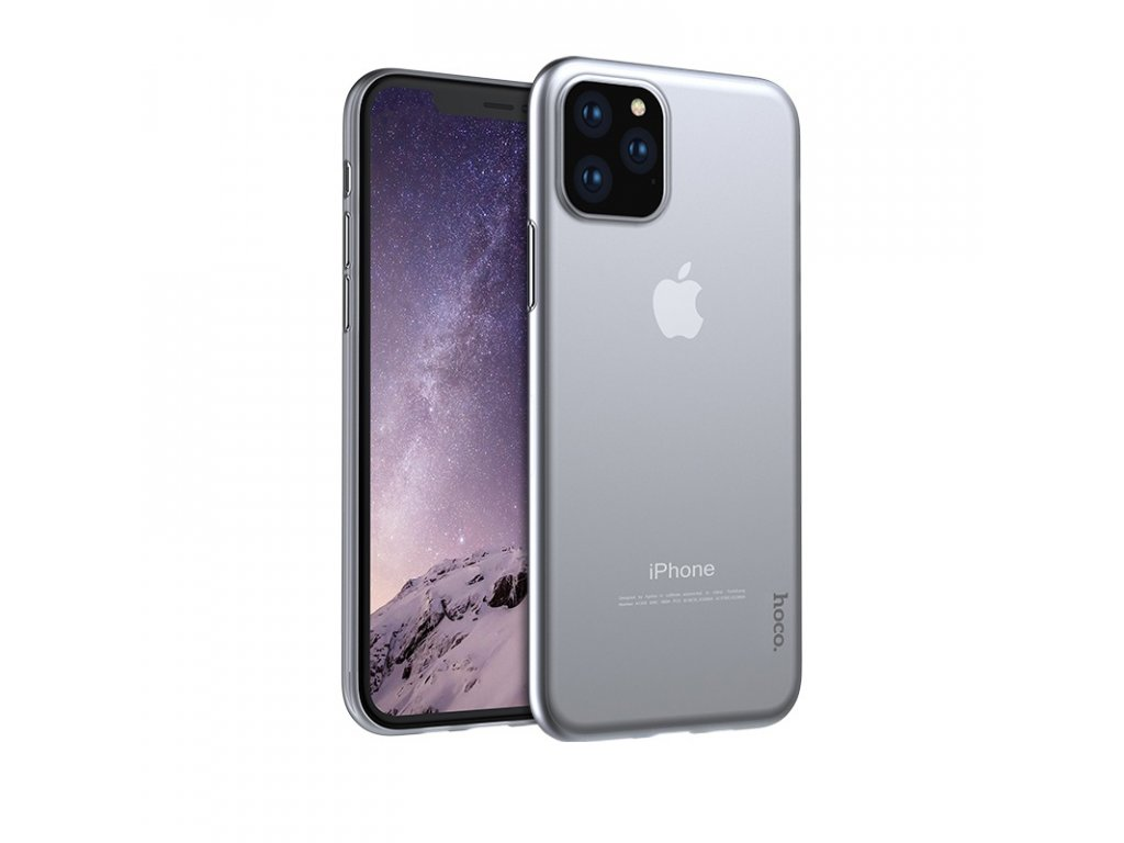Ultratenký kryt na iPhone 11 Pro - Hoco, Thin Transparent
