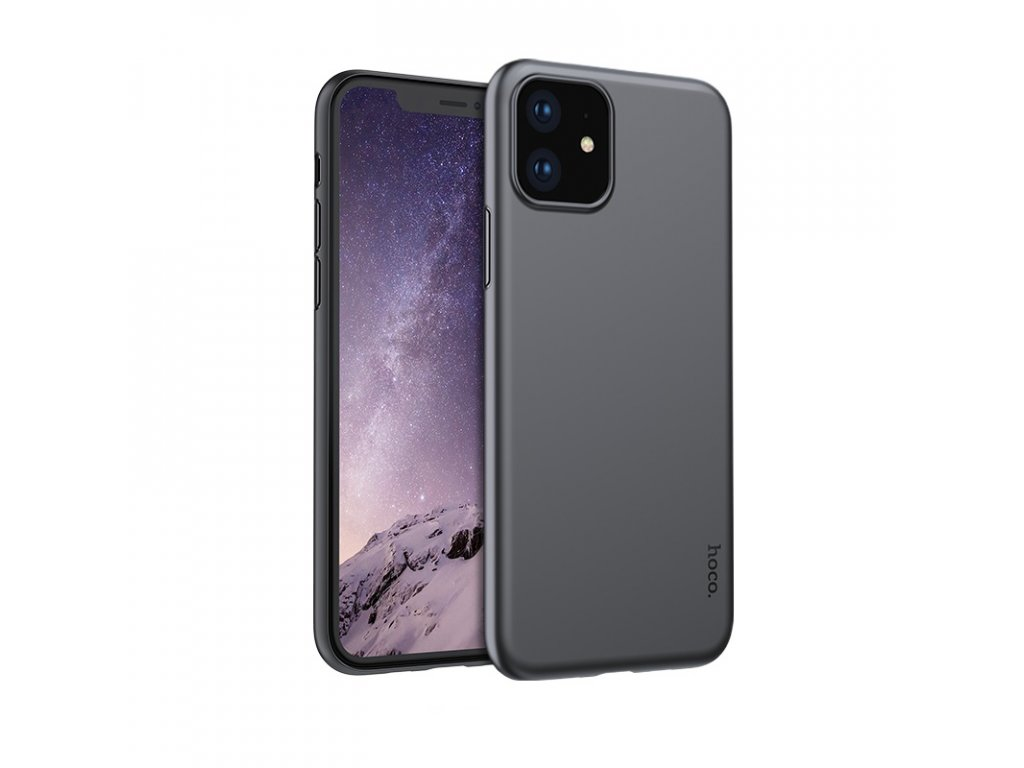 Ultratenký kryt na iPhone 11 - Hoco, Thin JetBlack