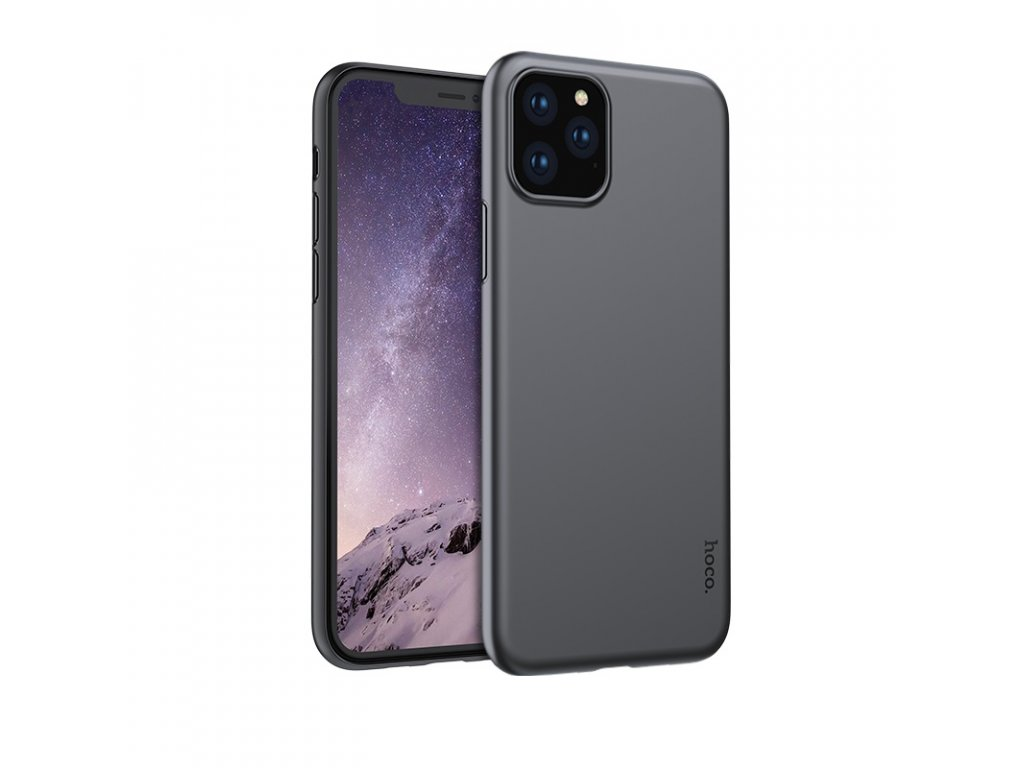 Ultratenký kryt na iPhone 11 Pro MAX - Hoco, Thin JetBlack